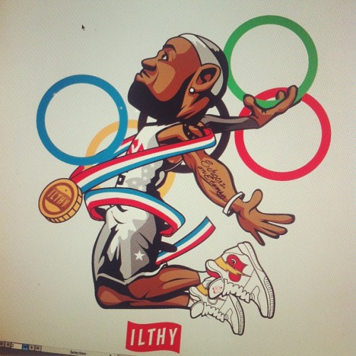 Lebron James iLTHY by gleninfante