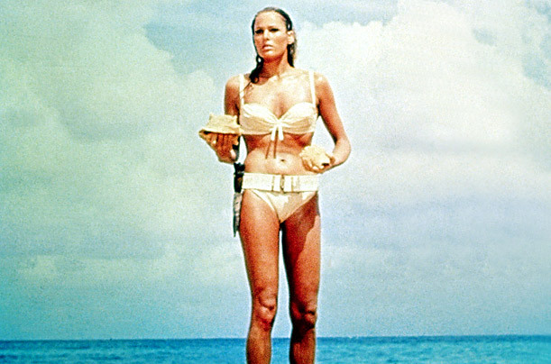 Crush of the day…. Bond Girl Honey Ryder .. Ursula Andress - Dr.No … fit