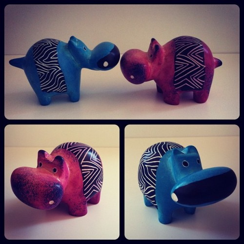 Hippo&Potamous #toys #toysrevolution #pictoftheday #iphone #instagram  (Tomada con Instagram)