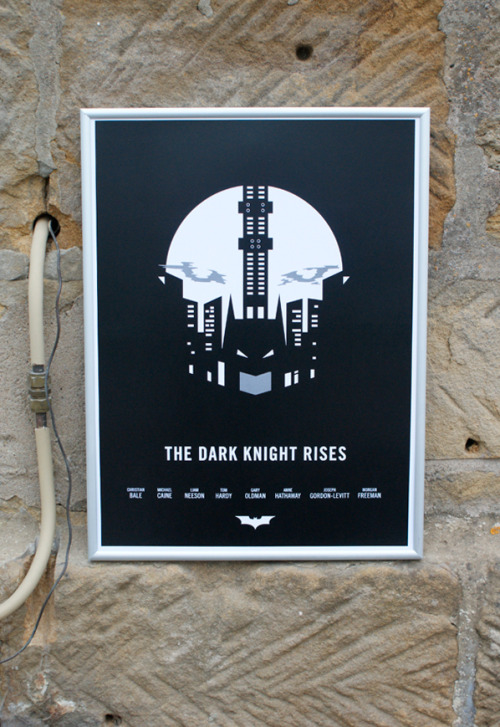 serialthrillerinspiration:  The Dark Knight Rises Poster