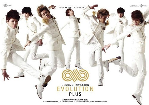 INFINITE 1st ARENA TOUR SECOND INVASION EVOLUTION PLUS  *******From THE STAR