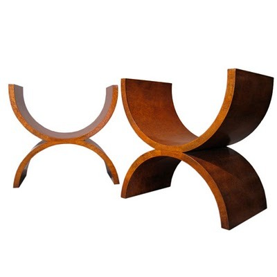 onsomething:  onsomething  Jay Spectre | Thuya Burl Wood Benches