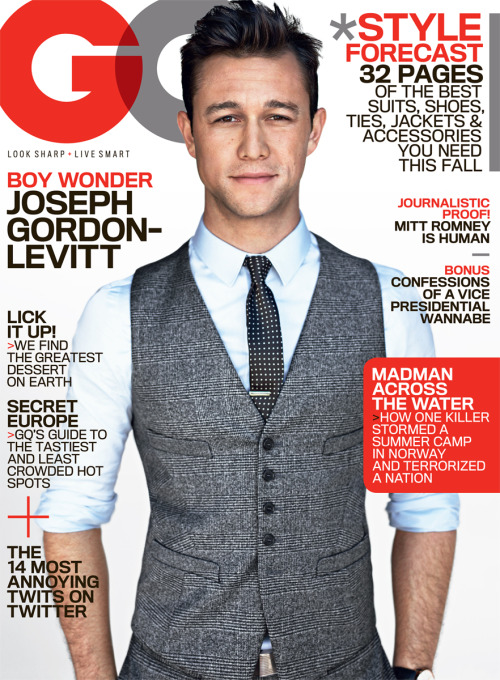 JGL covers GQ Read the full feature.