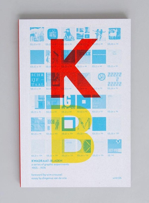 "Kwadraat Bladen Book and editorial design by graphic design studio Spin.  ""Kwadraat-Bladen was the brainchild of graphic designer Pieter Brattinga (1931-2004). He set out to prove that his family's printing firm was the best in the Netherlands by publishing a journal that would surprise its readers with its radical content, unusual format, and state-of-the-art production techniques.""  via: WE AND THE COLORFacebook // Twitter // Google+ // Pinterest"