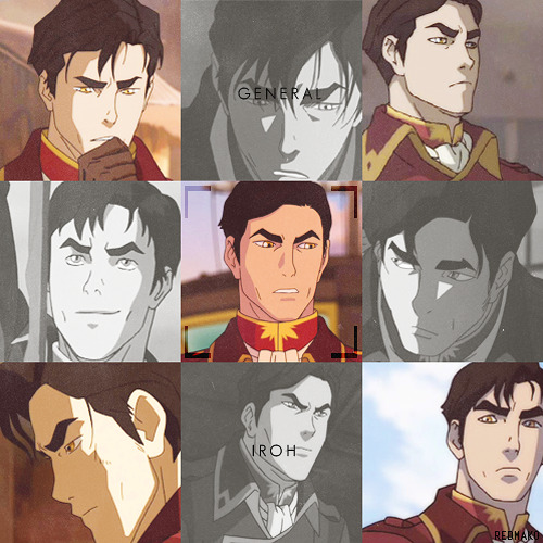Congratulations on your face, General Iroh.