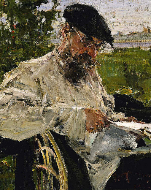 Fechin, Nicolai (1881-1955) - 1916 The Artist's Father Reading the Newspaper (Smithsonian American Art Museum, Washington DC) by RasMarley on Flickr.