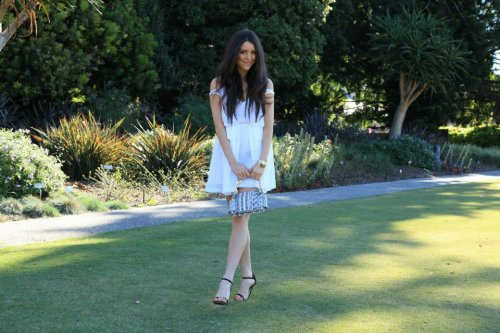 New outfit post on http://aleygreenblo.blogspot.com.au/ Featuring: Dress Camilla and Marc, Heels Tony Bianco, Bracelets ASOS, Bag Rachel Ruddick, Watch Michael KorsStyled by: Isabelle RichardsPhotography by: Ryan Peter