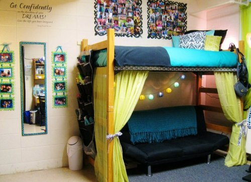 How to loft a dorm bed