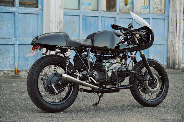 BMW R100 Cafe Racer by Aric Russon