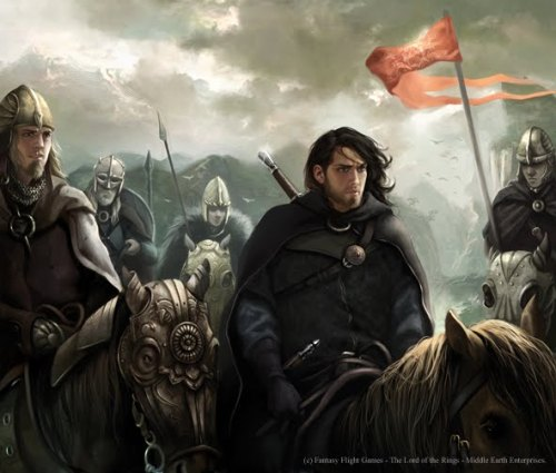 lorienscribe:  arkhane:  Arwen, Gandalf, Boromir, Haldir of Lorien, Aragorn and the Rohirrim, Legolas, Bifur, Durin's Bane and Galadriel. Lord of the Rings illustrations for the Living Card Game (LCG) published by Fantasy Flight Games Art by Magali Villeneuve  These artworks are breathtaking! I stumbled upon Villeneuve's gallery a few weeks ago, and I had to save a lot of the artworks into my computer. A few of these are close to how I envisioned some of my characters (mainly the Legolas one shown in this group.)