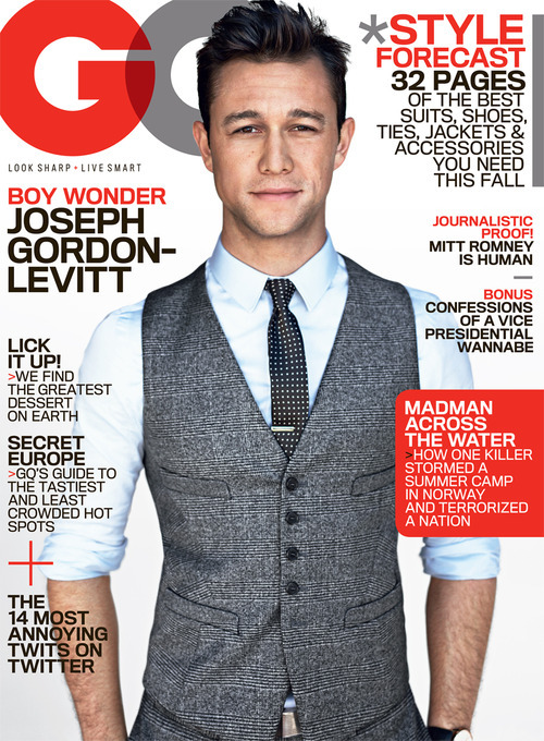 laughingsquid:  Joseph Gordon-Levitt: Boy Wonder  Does this play on words uphold the rumor that he *is* technically Dick Grayson in DKR??