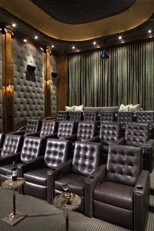 Perfect media room via Countess Sykora