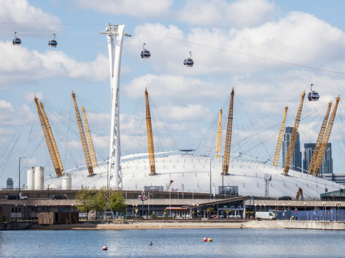 Things to Do in London Besides the Olympics | London's Emirates Air Line cable car