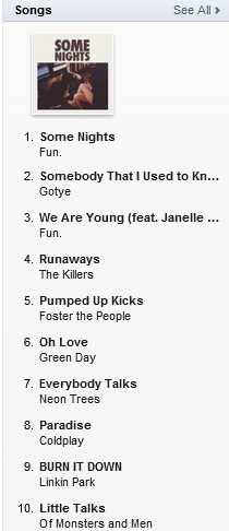 pickle55:  #Runaways by @thekillers is #4 on itunes Canada Alternative chart and #30 on the overall singles chart #battleborn