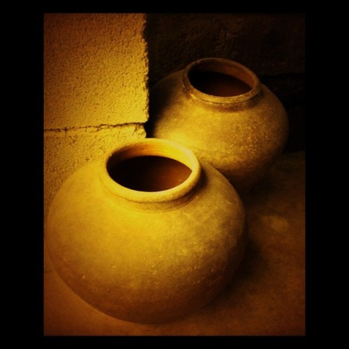 #old #jars #collectibles #instagram #vintage #classic (Taken with Instagram)
