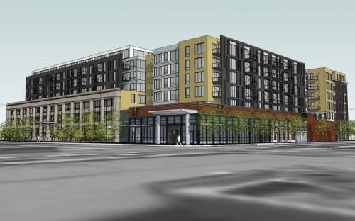 St. Paul officially broke ground yesterday on a downtown development that's been in the works for nearly a decade. It means a new grocery store and high-end housing within sight of the state Capitol. And city leaders hope it will help fuel a downtown revival. Development at the complex, called the Penfield, has already begun. Demolition is under way to make room for Lunds, a 28,000-square-foot full-service grocery store.The new store site, will be topped with more than 250 high-end apartments. Read more from reporter Tim Nelson.