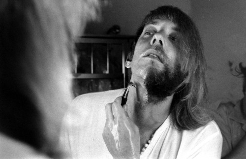 life:  Not originally published in LIFE: Donald Sutherland shaving, 1970. More photos here on LIFE.com