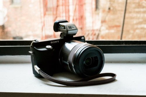 The Sony NEX F3 is a very good step for the company in an attempt to target the entry level crowd. Not only are features like the tilting screen for self-portrait included, but so are the options for allowing the camera to unleash some serious creativity an excellent images. (via Review: Sony NEX F3)