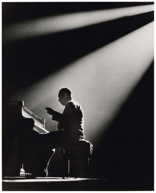firsttimeuser:   Duke Ellington, Paris, 1958 by Herman Leonard