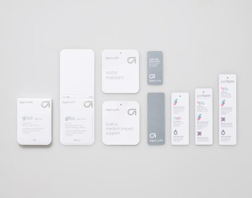 Gap Body Fit Branding Identity by design and visual communication studio Manual. via: WE AND THE COLORFacebook // Twitter // Google+ // Pinterest