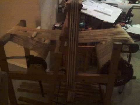 I got a loooooom! Once its all fixed up, get ready for a barrage of weaving pictures.  Or a few here and there.   And!  Don't forget that comicstriptees.com has Andy's shirts for one more week.  Get them soon!