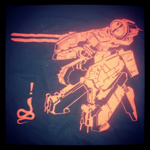 Awesome shirt! :) (Taken with Instagram at Outer Heaven)