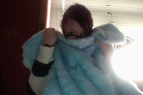 lylolikesapples:  All of the blue and fuzzies!   EEEEEE