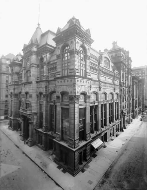 Chicago Board of Trade, early 1900s