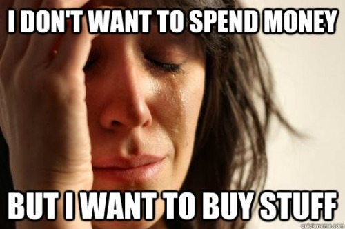 first world problems lol