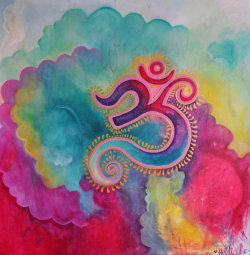 OHM ॐ Art by Heidi Lee