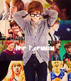 Happy Birthday SHINee's dance machine, Lee Taemin. We love you so much. ♥