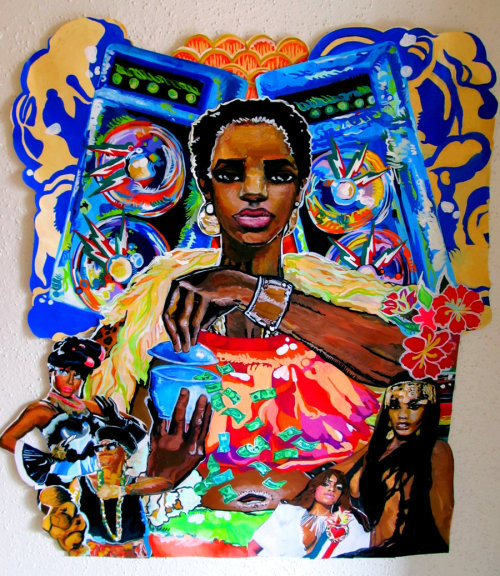nextstoprequested:  liveunchained:  BlackBrown's Feminism HipHop by Beth Consetta Rubel   Beautiful.