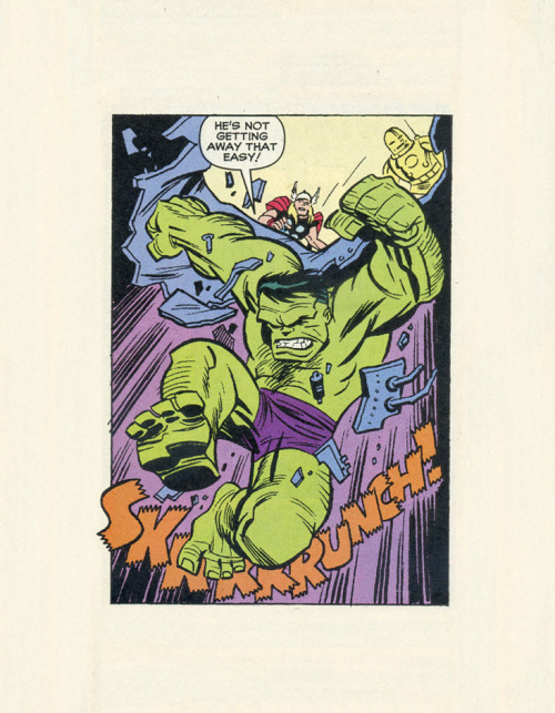 ISOLATED COMIC BOOK PANEL #119title: AVENGERS #1 1/2 - P20:1artist: BRUCE TIMMyear: 1999