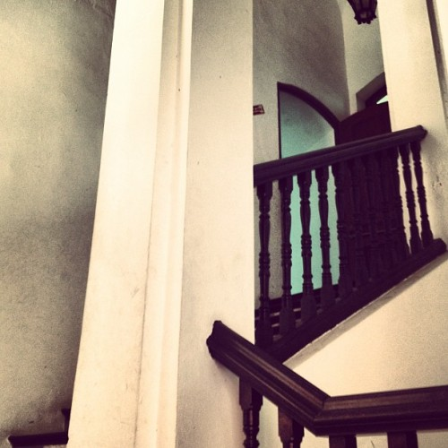Beyond the door #stairs #work #instagood #instamood #instago #iphonesia  (Taken with Instagram)