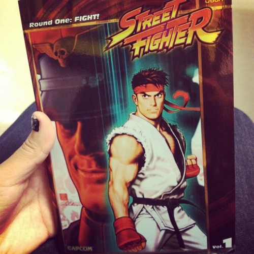 New book🌟 #book#streetfighter#capcom#awesome (Taken with Instagram)