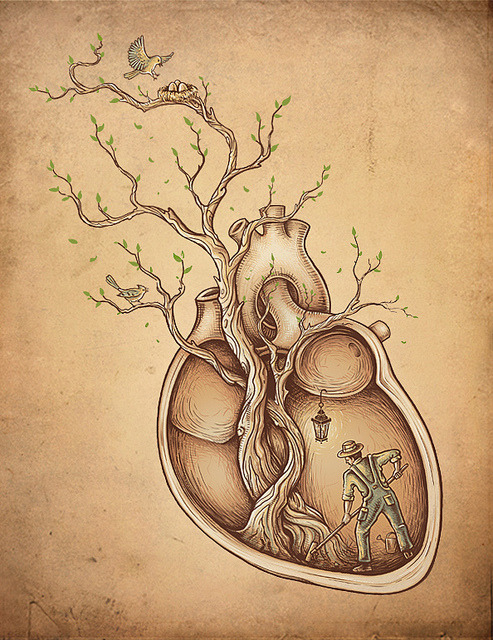 danceabletragedy:  Tree of Life by Enkel Dika  Love Abstract.