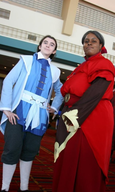 """I can always count on your vote!"" I found a Fire Nation Councilwoman cosplayer!! You have no idea how excited I was to see another Council member! Her design is so awesome, I'm glad she decided to cosplay her. I bet she's the first person to do so! Photo by Schmallison"