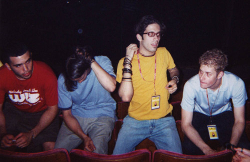 Glassjaw backstage 07.03.2000 @ Lawrence, KS - Liberty Hall