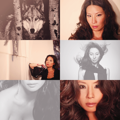 be on true blood, okay? ››› lucy liu [werewolf]