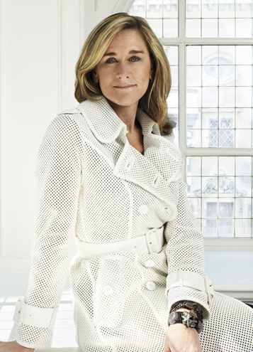 Tech Crush Thursday: Angela Ahrendts Our latest tech crush is Angela Ahrendts, digital innovator and CEO of luxury brand Burberry. In 2006, giving up her title as Executive Vice President at Liz Claiborne Inc., Angela became CEO of Burberry. While she does not have an educational background in technology, Angela saw that to help the British brand grow and reach the younger generation, she would need to implement a digital initiative. Angela had a vision she wanted to see come true: anyone who wanted to touch the company could have access to it. Since she arrived in 2006, she started reinventing the Burberry image, making it more appealing to a younger and more global consumer. This makeover proved to be a good move with sales having more than doubled.Angela has been working closely with Salesforce CEO Marc Benioff to form a technology strategy using Facebook, Twitter, and other social media outlets, as well as software from Salesforce and SAP. Employees are encouraged to use social media throughout the day. Despite the past aura of exclusivity at Burberry, Angela saw that the way to grow the company was to take them into the future digitally. Burberry is considered one of the top technology-forward companies in the luxury fashion industry. They have high rankings in Facebook and Twitter followers, as well as an impressive and easy to navigate website and great video campaign ads. It all makes sense, as half of their media budget goes to digital. Watch this interview with Angela to learn more about the Burberry digital initiative and check out some of their films. And of course, on Facebook, Twitter, and Pinterest.