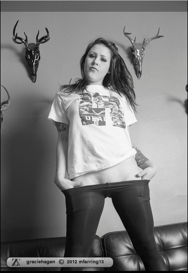 "Now live on Zivity!  Graciehagen in ""Stag"" 35mm B&W film goodness! Go see the whole set on Zivity!  and non members can ""unlock"" the set for only $2!!  And if you are interested in joining Zivity, use the code ""zivitytn"" at zivity.com/join/passcode"