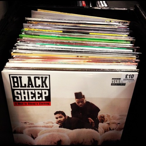 Good to see Fopp - now part of the HMV group - still selling vinyl.  (Taken with Instagram at Fopp (in Waterstone's))