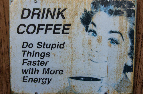 Drink Coffee by benchorizo on Flickr.agreed