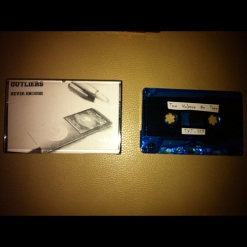 #outliers never enough demo on true violence on tapes (Taken with Instagram)