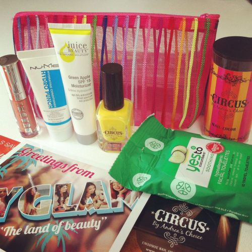 July Myglam Bag. Pretty impressive eh? :-)
