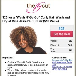 @theflycut I wish I cut take advantage of this deal!!  (Taken with Instagram at My Office)