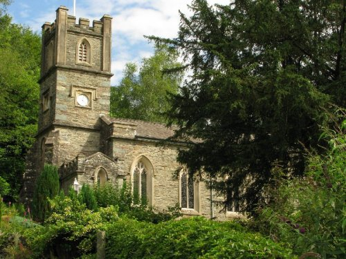 galava:  The Parish Church - Rydal - The English Lake District Photo by Tony Richards