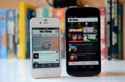 The Verge app now available for Android and iOS! You've waited, you've watched, you've sent angry letters to our homes and offices — and now the day is finally here. Yes, The Verge has been unleashed in the App and Play Stores, and you can go and download version 1.0 of our mobile apps right this moment. We've been working hard to bring core features of the site into a more appy environment, and we think we've got some goodies that you're going to enjoy. For starters, not only is our news, review, and feature content readily available, we've included quick access to all of our photo galleries, videos, and podcasts. And yes, videos play just fine on both iOS and Android.