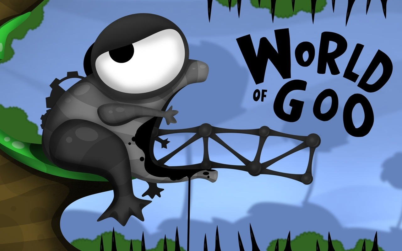 Mr Meatball looks at World of Goo (Played on PC Win) Physics based puzzle game: featuring rubbery balls. I only showed one level, but there is variation in both enviroments and balls. Lots of balls in this game. However it's damn tricky. Still fun to play around with, if you like puzzle games. Click below for video!  http://www.worldofgoo.com/