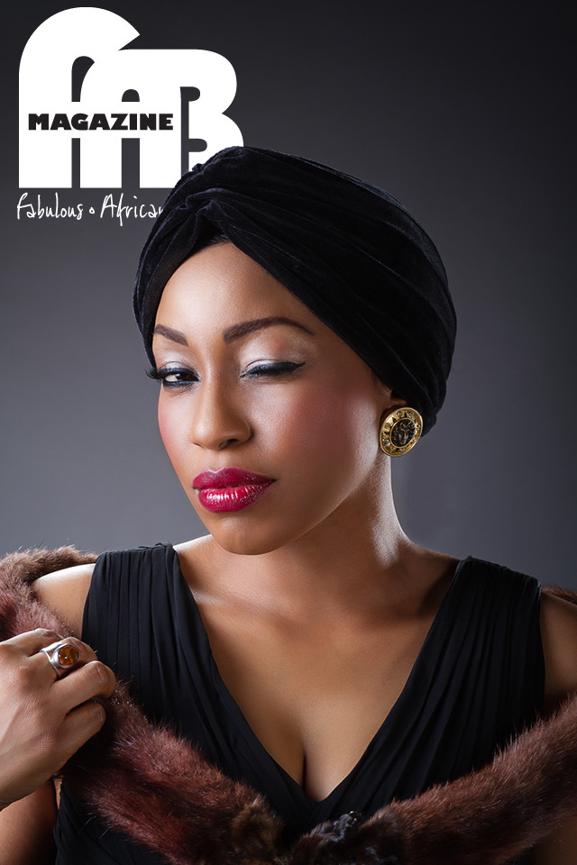 Rita Dominic for FAB Photo: Obi Somto Art Direction and Make Up: Lola Maja-Okojevoh Styling: Sharon Ojong